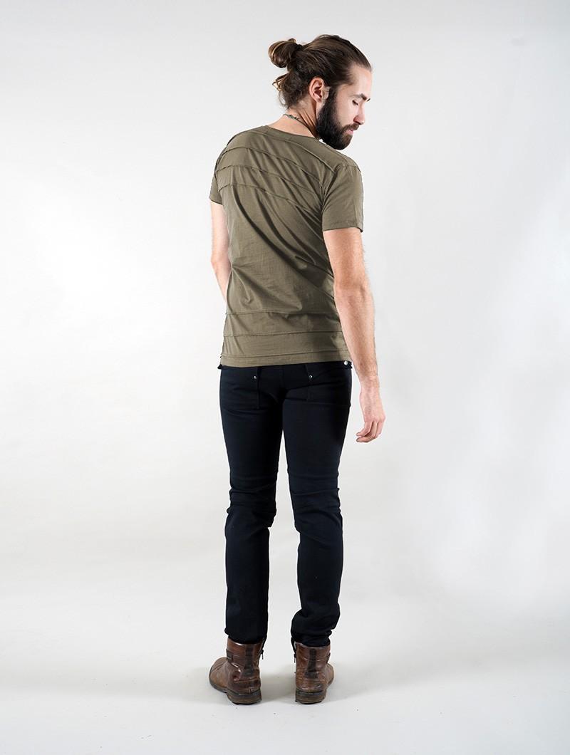 "T-shirt \""Agoria\"", Vert kaki"
