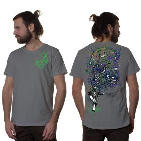 """T-shirt \""""Albert Hoffman\"""", Gris clair"""