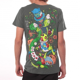 """T-shirt \""""Aliza\"""", Gris foncé"""