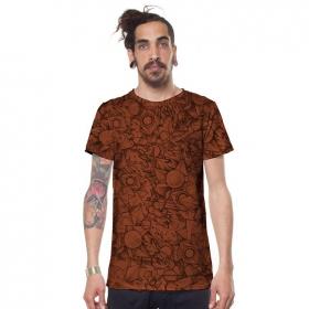 """T-shirt \""""Ambitones\"""", Brique"""