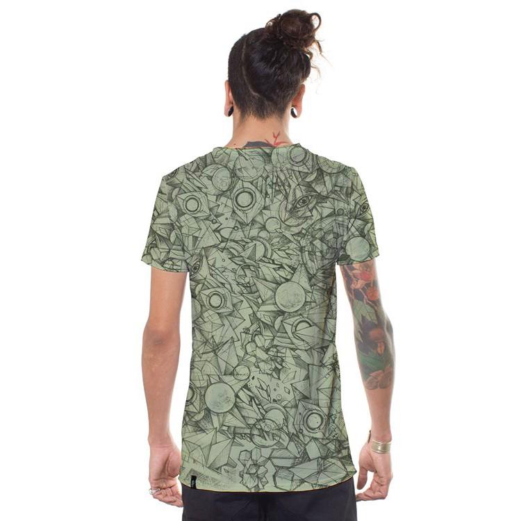 "T-shirt \""Ambitones\"", Vert clair"
