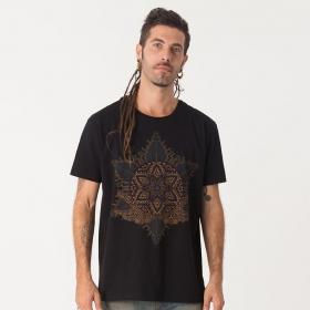 """T-shirt \""""Anahata\"""", Noir"""