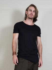 """T-shirt \""""Ayawaska\"""", Noir"""