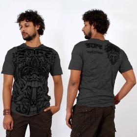 """T-shirt \""""Bali Dragon\"""", Gris Foncé"""