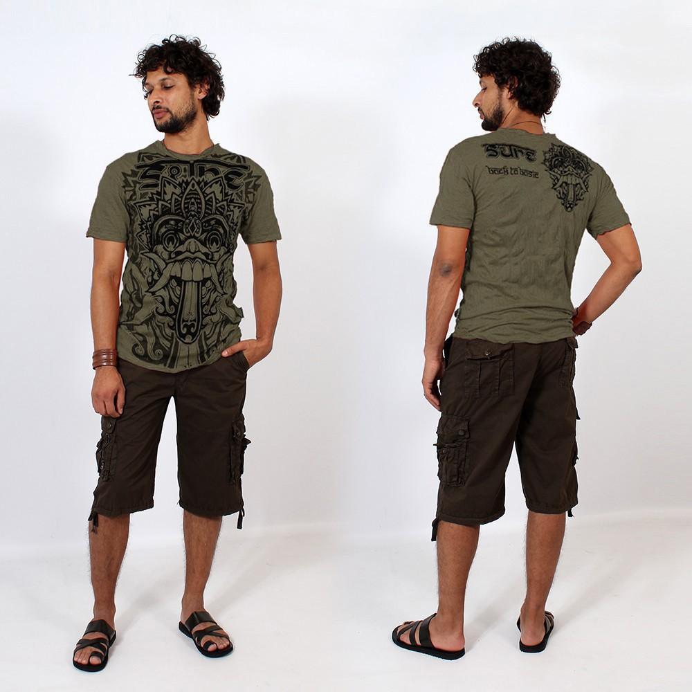 "T-shirt \""Bali Dragon\"", Kaki"