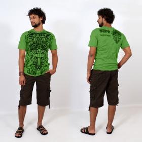 "T-shirt \\\""Bali dragon\\\"", Vert"
