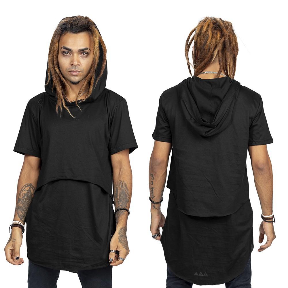 """T-shirt \""""Benedikt\"""", Noir"""