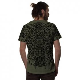 "T-shirt \""Bonez\"", Kaki"