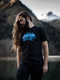 """T-shirt \""""Cameleon\"""", Noir"""