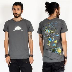 """T-shirt \""""Circus\"""", Gris foncé"""