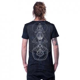 """T-shirt \""""City Zen\"""", Noir galaxie"""