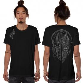 """T-shirt \""""Day & Night\"""", Noir"""