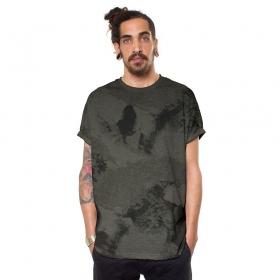 "T-shirt \""Discharge\"", Gris foncé"
