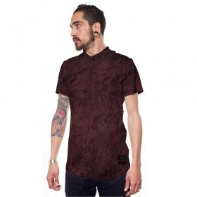 "T-shirt \""Ekem\"", Bordeaux"