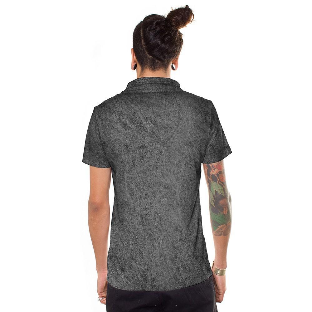 """T-shirt \""""Ekem\"""", Gris"""