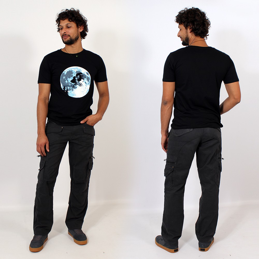 "T-shirt \""e.t. moon\"""