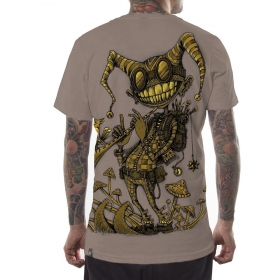 """T-shirt \""""Fiddler\"""", Stone"""