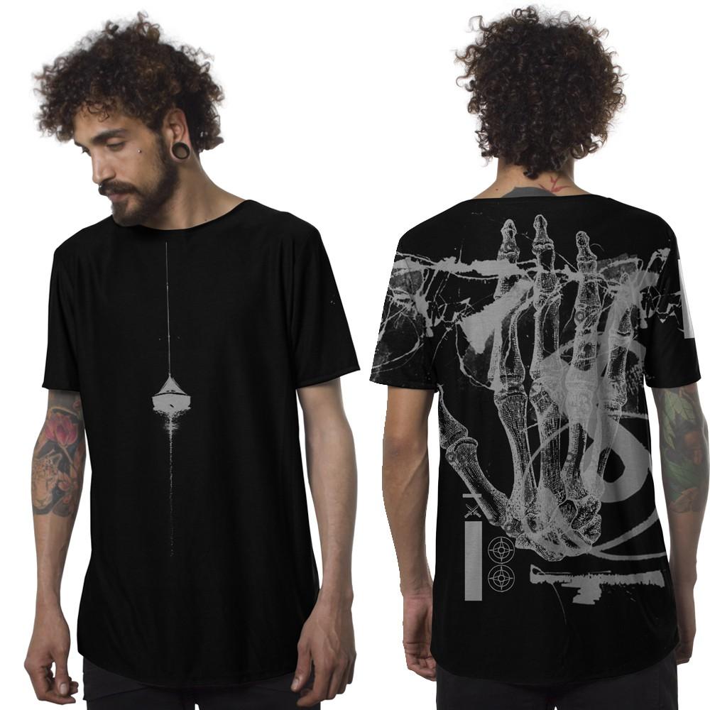 """T-shirt \""""Flint\"""", Noir"""