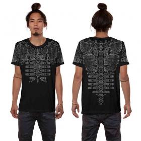 """T-shirt \""""Futura\"""", Noir"""