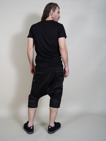 "T-shirt \""Geometric Tierra\"", Noir"