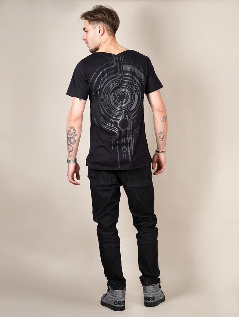 """T-shirt \""""Globule\"""", Noir"""