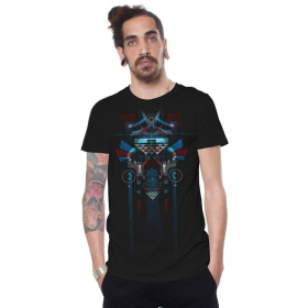 "T-shirt \""Gome\"", Noir"
