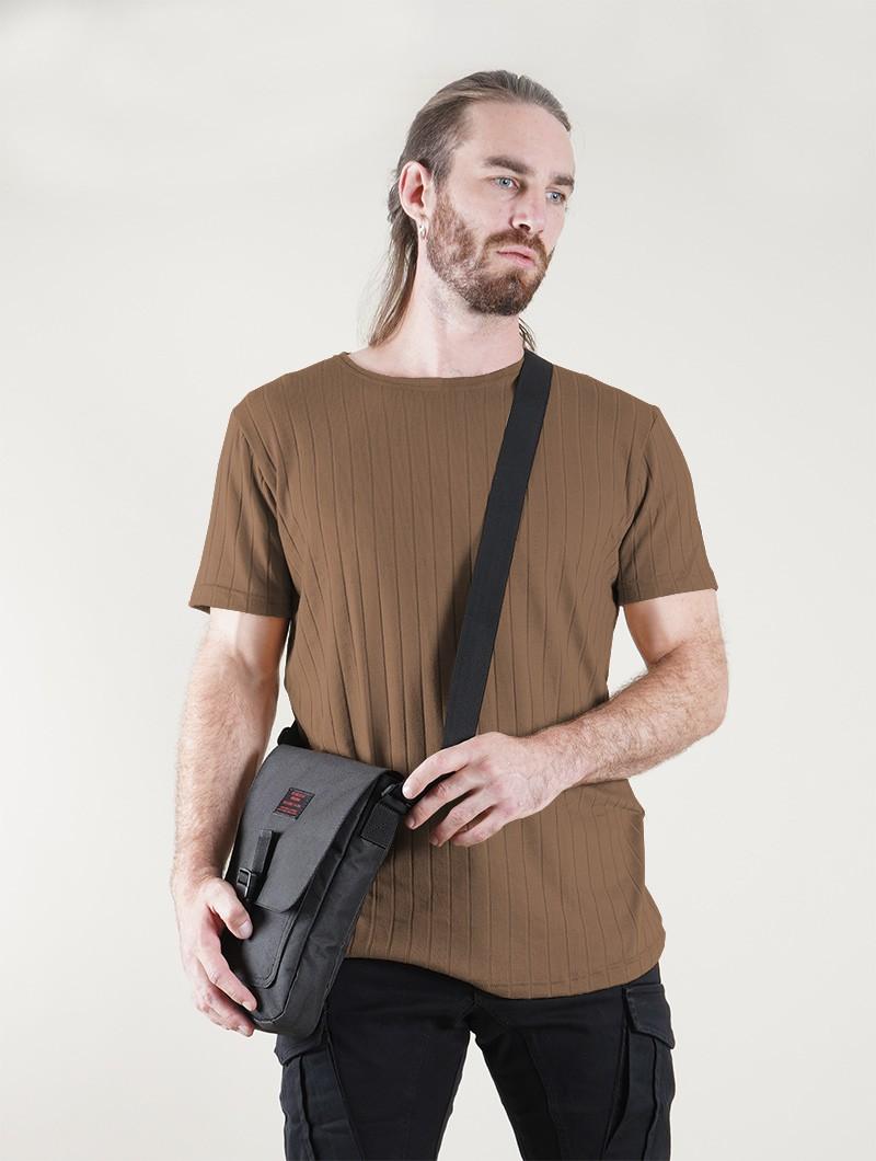 "T-shirt \""Gyo\"", Moka"
