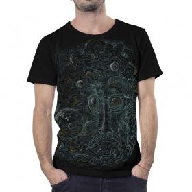 """T-shirt \""""Harimeho\"""", Noir"""