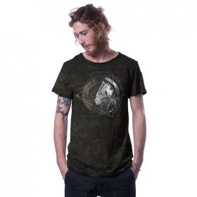 """T-shirt \""""Healing\"""", Noir industriel"""