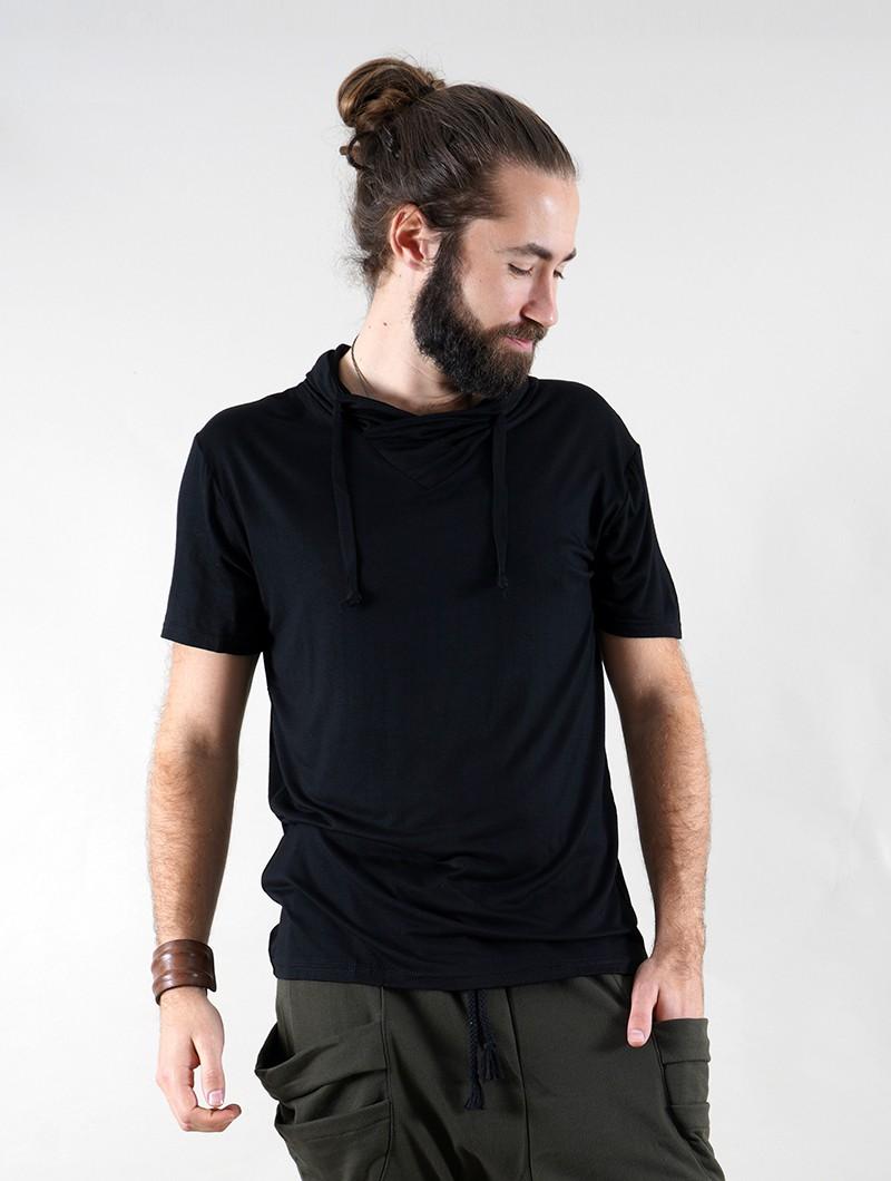 """T-shirt \""""Hylo\"""", Noir"""