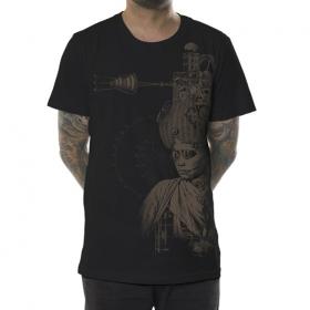 """T-shirt \""""Indiana\"""", Noir"""