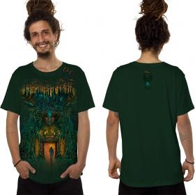 """T-shirt \""""Inner Forest\"""", Vert forêt"""