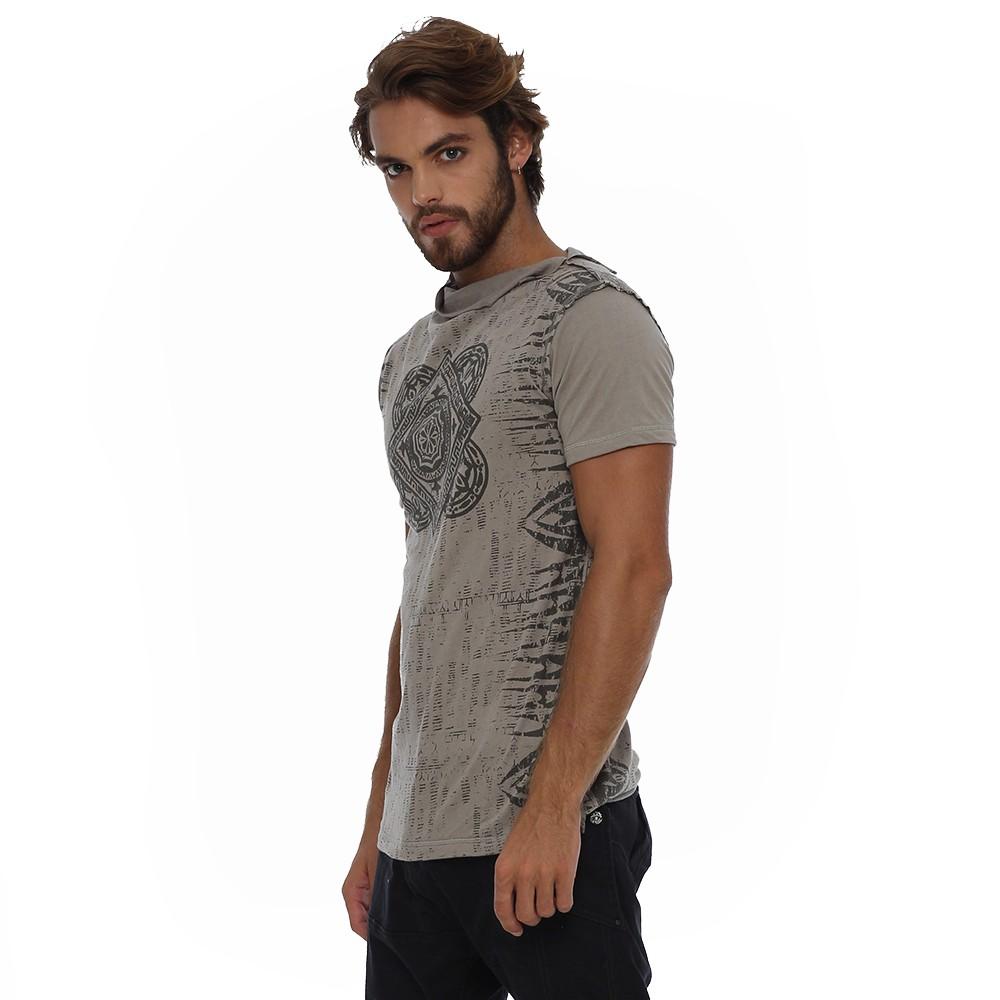 """T-shirt \""""Jaya\"""", Gris foncé"""