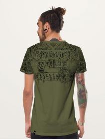 "T-shirt \""Kadu\"", Olive"