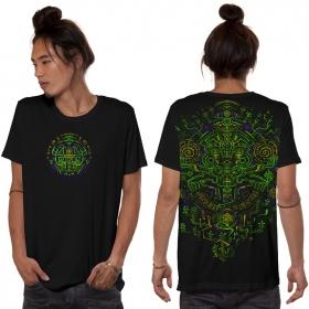 """T-shirt \""""Kaktus\"""", Noir"""