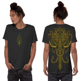 """T-shirt \""""Kandula\"""", Gris foncé"""