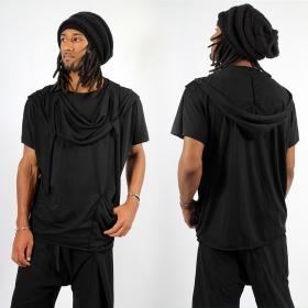 "T-shirt \""Kusumo\"", Noir"