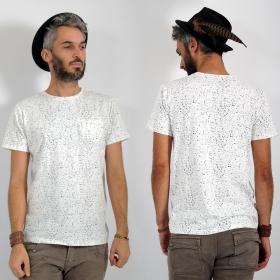 "T-shirt \\\""Lawan\\\"", Blanc"