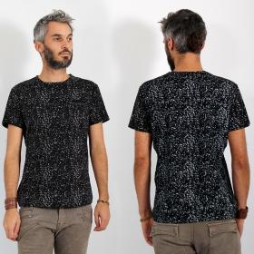 """T-shirt \\\""""Lawan\\\"""", Noir"""