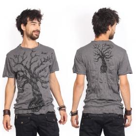 """T-shirt \""""Leafless Tree\"""", Gris foncé"""