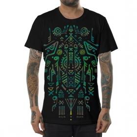 "T-shirt \""Leta\"", Noir"