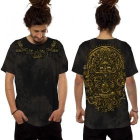 "T-shirt \""Magi\"", Noir"