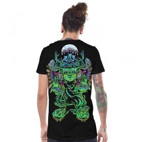 """T-shirt \""""Mana\"""", Noir"""