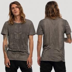 "T-shirt \""Maya\"", Gris beige"