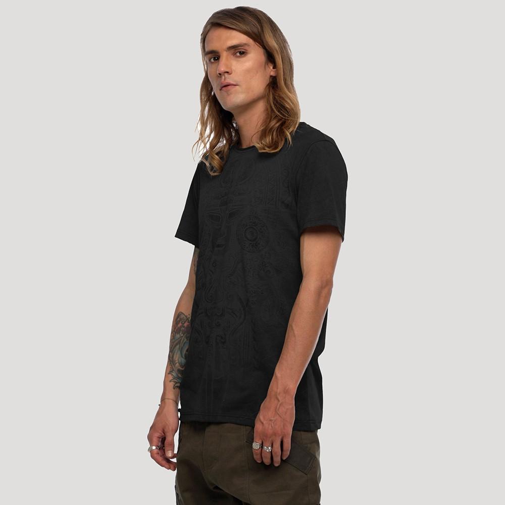 """T-shirt \""""Maya\"""", Noir"""