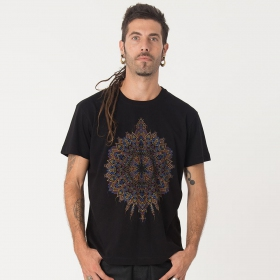 "T-shirt ""Mexica\"", Noir"
