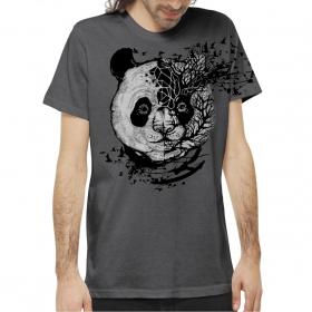 """T-shirt \""""Miha\"""", Gris"""