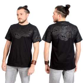 "T-shirt \""Minos\"", Noir"