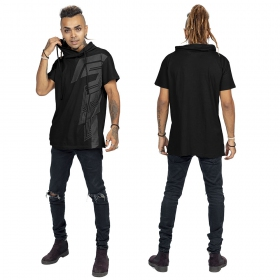 """T-shirt \""""Nazca\"""", Noir"""