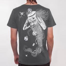 "T-shirt \""Nexus\"", Gris foncé"